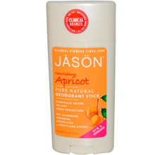 Apricot & E Stick, 2.5 OZ, Jason Natural Cosmetics