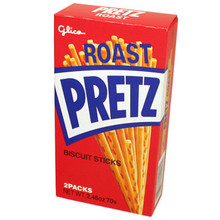 Glico Roasted Pretz 2.71 oz  From Glico