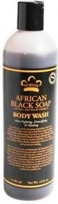 African Black Wash N Scrub, 13 OZ, Nubian Heritage