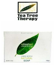 Bar Soap, Lemon Myrtle, 3.5 OZ, Tea Tree Therapy, Inc.