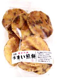 Umai Rice Cracker 6.1 oz  From Maruhiko