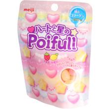 Meiji Poifull Lemon Strawberry Candy 1.16 oz  From Meiji