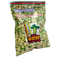Orchids Wasabi Peas 3.9 oz  From Royal Orchids