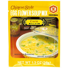 Egg Flower Soup Mix Corn  From Kikkoman