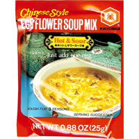 Hot & Sour Soup Mix  From Kikkoman