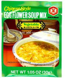 Vegetable Egg Flower Soup Mix  From Kikkoman