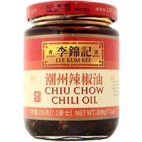 LKK Chiu Chow Chili Oil 7.2 oz  From Lee Kum Kee