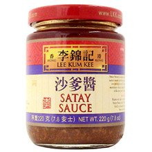 LKK Satay Sauce 7.8 oz  From Lee Kum Kee