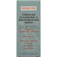 Cleansing/Moisturizing Wash, 4 OZ, Emerita