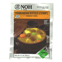 Hawaiian Style Curry Mix  From Noh