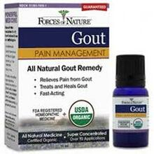 All Natural, Gout Remedy, 11 ML, Forces Of Nature