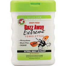 Buzz Away Extreme Pop-up Towlette, 25 CT, Quantum