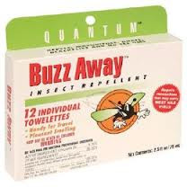Buzz Away Extreme Towelettes, 12 CT, Quantum