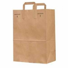 Grocery Bags w/ Handles, 300 PK, Unfi Products