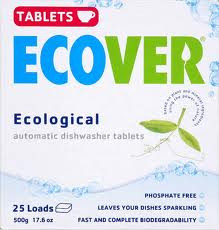 Auto Dishwasher, Tab, 12 of 17.6 OZ, Ecover