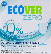 Auto Dishwasher, Tab, Zero, 12 of 17.6 OZ, Ecover