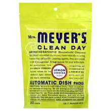 Automatic, Packs, Lemon Verbena, 6 of 12.7 OZ, Mrs Meyers Clean Day