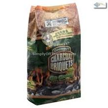 Coconut Charcoal Briquets, 18 LB, Coshell