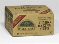 Baking Cups, Jumbo, 24 of 24 CT, If You Care