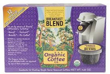 Breakfast Blend, 12 Count, 6 of 4.65 OZ, Organic Coffee Co.