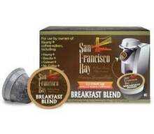 Breakfast Blend, 12 Count, 6 of 4.65 OZ, San Francisco Bay Coffee