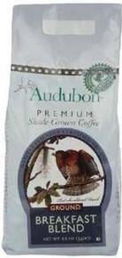 Breakfast Blend, Ground, 6 of 12 OZ, Audubon Premium Coffee