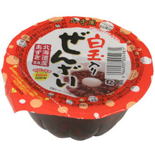 Instant Red Bean Cup w/ Glutenious Rice 5.64 oz  From AFG
