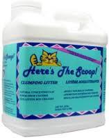 Cat Litter, 10 LB, Here'S The Scoop
