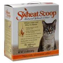 Cat Litter, Scoop, 4 of 12.3 LB, Swheat Scoop