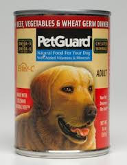 Beef, Veg & Wht Germ Adult, 12 of 13.2 OZ, Pet Guard
