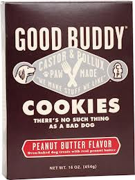 Dog Cookie, Peanut Butter, 8 of 16 OZ, Castor & Pollux