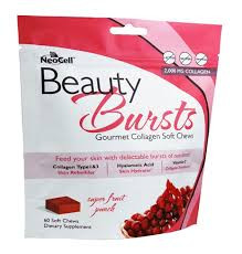 Beauty Bursts Super Fruit Punch 60 CT Neocell Corporation