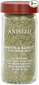 Aniseed 3 of 2.3 OZ By MORTON & BASSETT