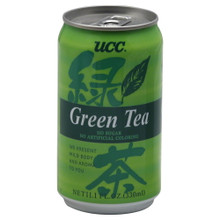 Green Tea In A Can 24 Pack 11.1 OZ UCC