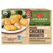 Organic GF Chicken Nuggets 12 of 8 OZ By APPLEGATE FARMS