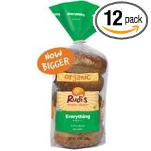 Everything 5ct 12 of 15 OZ By RUDI`S ORGANIC BAKERY