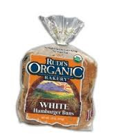 White Hamburger Buns 8ct 7 of 18 OZ Rudi's Organic Bakery
