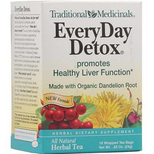 Everyday Detox Dandelion 6 of 16 BAG TRADITIONAL MEDICINALS