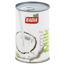 Coconut Milk 17-19% Fat 24 of 13.5 OZ From BADIA