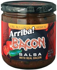 Bacon Salsa Fire Roasted Med 6 of 16 OZ By ARRIBA!