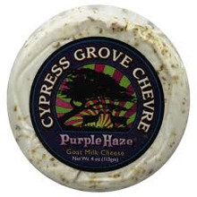 Goat Chevre Disks Purple Haze 12 of 4 OZ Cypress Grove Chevre