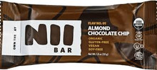 Almond Chocolate Chip 12 of 1.8 OZ By NII BAR