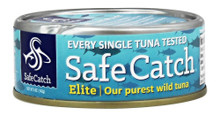 Elite Wild Tuna 12 of 5 OZ By SAFE CATCH