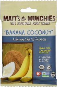 Banana Coconut 12 of 1 OZ By MATT`S MUNCHIES