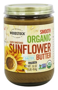 Sunflower Butter Slt/Lt Sweet 12 of 16 OZ By WOODSTOCK