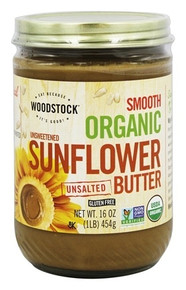 Sunflower Butter Unswt/Unslt 12 of 16 OZ By WOODSTOCK