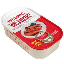 Welpac Broiled Mackerel 3.5 oz  From Wel-Pac