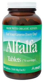 Alfalfa Tablets 500 TAB PINES INT`L