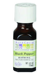 Black Pepper Warming .5 OZ By AURA CACIA