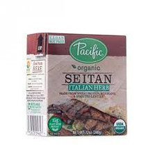 Seitan Italian Herb 12 of 12 OZ By PACIFIC NATURAL FOODS